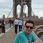 """""""No caso de Nova York foi uma tortura. A cada esquina via um ângulo diferente, pensava como seria a minha foto. Havia o frio e a neve, a necessidade de tirar as luvas para manusear os equipamentos e a superlotação de turistas, que disputavam o mesmo espaço"""", explica Rodrigo sobre sua paixão pela(s) imagem(ns) perfeita(s) (Foto: Rodrigo Alves/Arquivo pessoal)"""