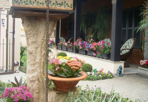 Concurso de Jardim de Pomerode: a cidade toda fica ainda mais alegre, florida e perfumada (Foto: Divulgação/Vem pra Pomerode)
