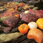 Huuummm, picanha! E bife de chorizo, linguiça, bife ancho... No The Knife, a mistura Brasil-Argentina dá muito certo quando o assunto é churrasco (Foto: Eduardo Oliveira)