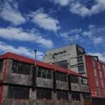 A construção do NOI Índigo foi inspirada na arquitetura portuária, com sua elegante fachada que remete a containers. (Foto: NOI Índigo/Divulgação)