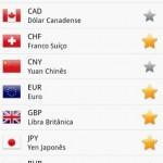 Mais de 180 moedas de todos os continentes do mundo podem ser convertidas com o app Conversor de Moedas Fácil, que também trabalha no modo offline (Foto: Divulgação)
