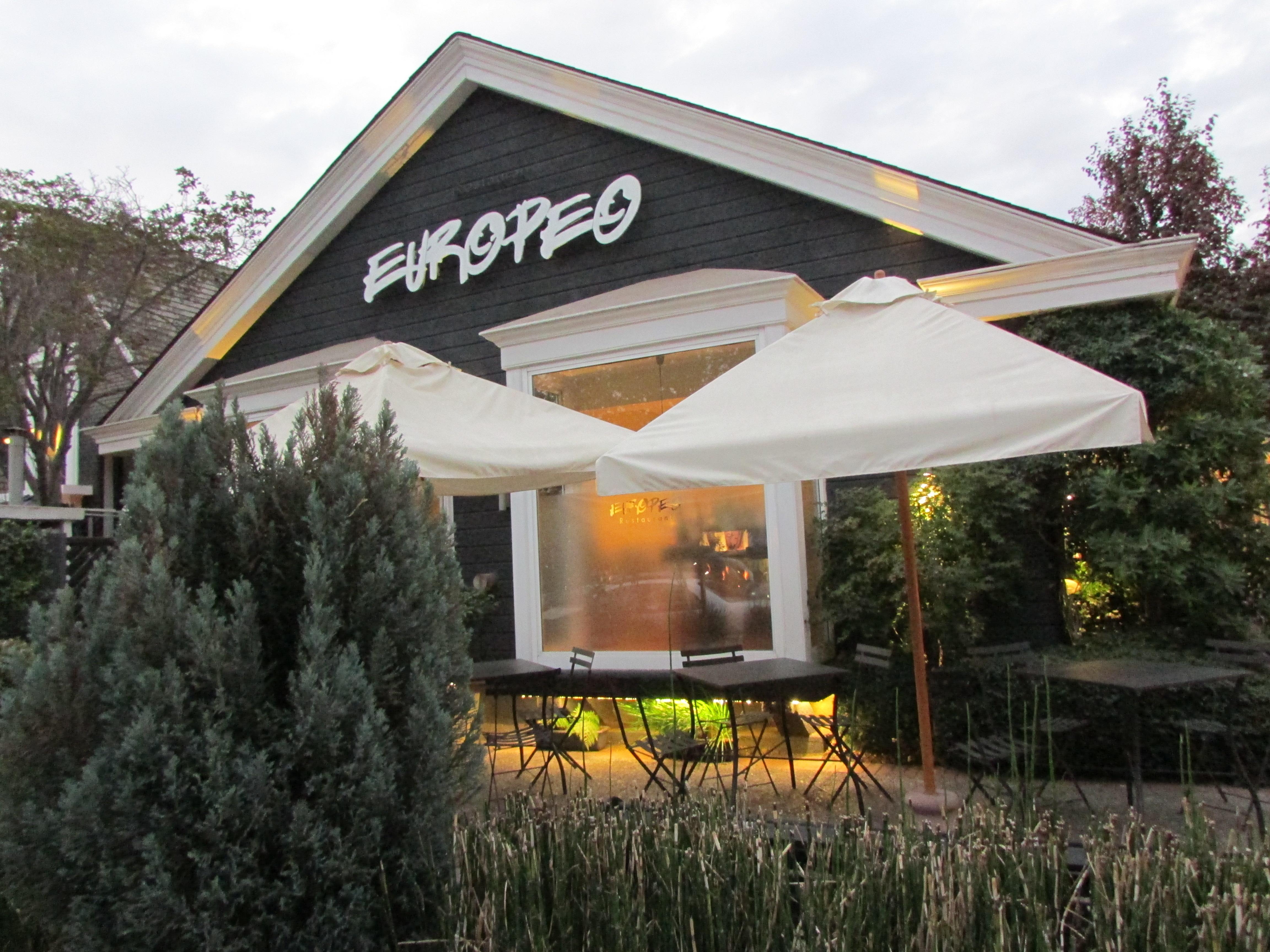 Restaurante Europeo e a premiada cozinha de Santiago