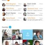 Com o Skype, é possível fazer chamadas de voz e com vídeo gratuitas para qualquer usuário do mesmo aplicativo, além da opção de enviar mensagens de chat (Foto: Divulgação)