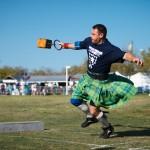 O Dunedin Highland Games, realizado na primavera, presta homenagem à cultura escocesa com alguns esportes tradicionais europeus, além de festas típicas pela cidade (Foto: Visit St. Petersburg / Clearwater)