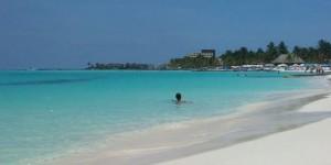 Playa Norte, em Isla Mujeres (Foto: Divulgação)