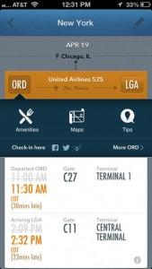 GateGuru: o app fornece todas as informações de voo e do aeroporto para que o viajante possa gerenciar seu dia da viagem (Foto: Divulgação)