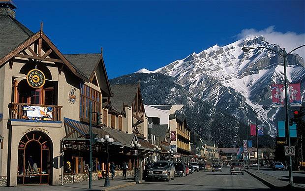 Conheça Banff, o Canadá das belas paisagens