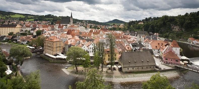 Cesky Krumlov: a cidade medieval da República Tcheca