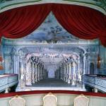 O teatro barroco do castelo de Cesky Krumlov está entre os mais antigos e conservados do tipo palacial da Europa Central (Foto: CzechRepublic/Divulgação)