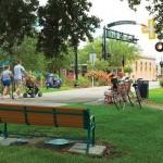 A cidade de Dunedin se orgulha de preservar o espaço verde para os residentes e visitantes, mantendo mais de 220 hectares de terra dedicados ao uso público para caminhadas, pedaladas e piquenique (Foto: Visit St. Petersburg / Clearwater)
