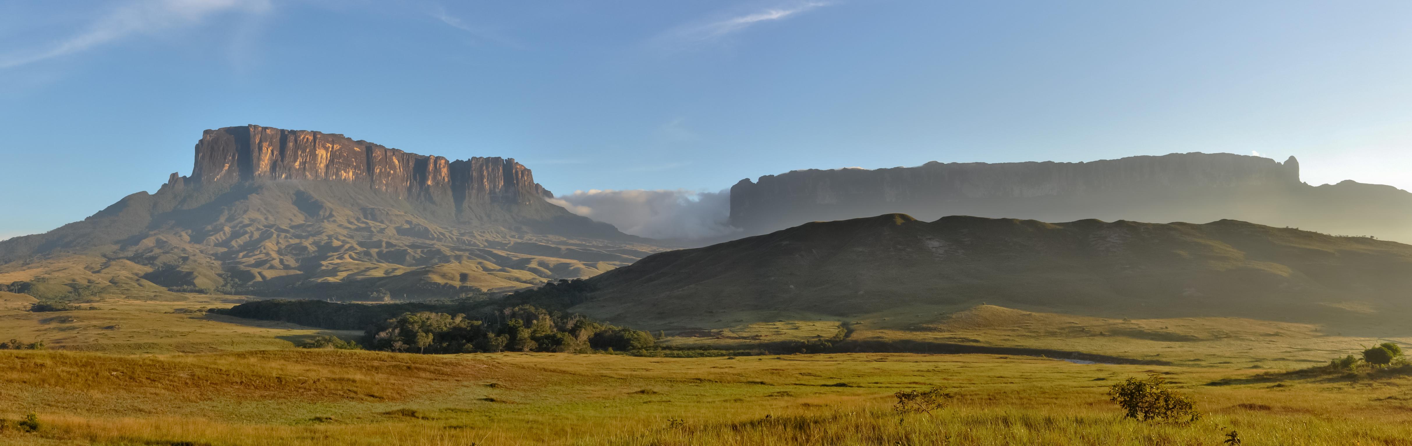 Galeria de fotos: conheça o grandioso Monte Roraima, que liga dois países ao Brasil