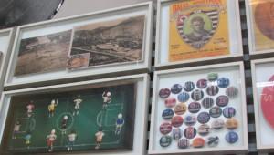 Para os amantes do futebol, não faltam histórias e arquivos do esporte mais popular do país (Foto: Eduardo Oliveira)