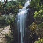 Salto São Sebastião: tem 120 metros de altura. Na cabeceira do salto, de um mirante natural, é possível visualizar o Salto Mlot (Foto: Prefeitura de Prudentópolis)