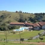 A natureza circunda o Resort Villa di Mantova (Foto: Érika Soares)