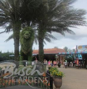O Busch Gardens foi inaugurado no ano de 1.959; não faltam áreas verdes e milhares de animais selvagens, já que o parque tem uma temática africana (Foto: Eduardo Oliveira)